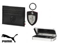 Puma 'Ferrari LS Package' Wallet and Key Ring Set (073149-01) x4: £9.95